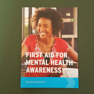 Awareness of First Aid For Mental Health Book in the UK