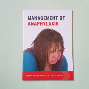 Immediate Management of Anaphlaxis Book